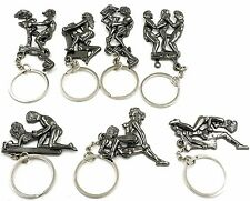 1Pc Fashion Open Lover Pendants Key Chain Keyring Charms HAPPR MAN Couple Gifts