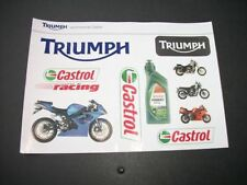 Triumph Motorcycle Motorcycle Decals & Stickers