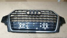 AUDI Q7 GRILL 2015-19 FRONT BUMPER GRILLE WITH PDC HOLES GENUINE PART