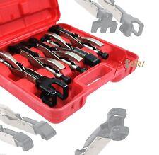 5Pc Axial Locking Clamp Auto Fen Welding Grip W,  L, J, LL, JJ Types Pliers Set