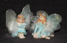 Fairy Garden Fairies Figurines Magic Fantasy Decorative Ornament Statuette set-2