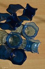 6 Stück Tupperware Eleganzia JW Serviettenringe wie neu! blau / hellblau