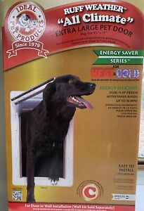 Ideal Pet Products Ruff Weather Dog Door Extra Large