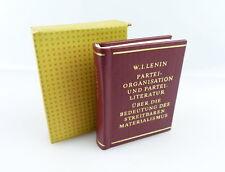Minibuch: w.i. Lénine parti organisation et parti littérature remet... e335