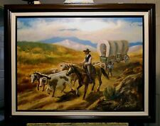 OREGON BOUND, 1850  by Richard R. Nervig