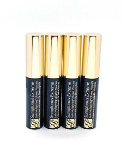 4 x Estee Lauder Sumptuous Extreme Lash Multiplying Volume Mascara Extreme Black