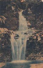 Wonokitri Jawa Timur Indonesia RPPC 1913 Waterfall 1707140