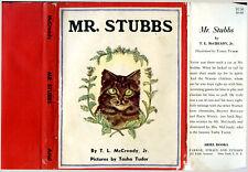 T L McCready, Jr / Tasha Tudor MR STUBBS First Edition 1956 #28747