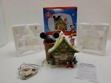 Department 56 Disney Christmas Village Mickey's Ski and Skate Building