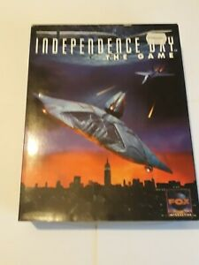 Independence Day The Video Game PC CD ROM Big Box Worldwide Post! 1997 Retro