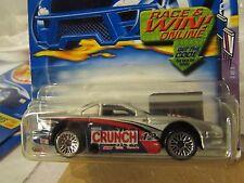 Hot Wheels Mustang Cobra #097 Nestle Crunch Silver