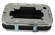 EMPI VW BUG BUGGY CHROME AIR CLEANER WEBER DGV,DGAV,DGEV, 1 3/4 TALL  8806