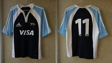 Argentina Home Rugby Union Shirt 2004/2005 Jersey M Adidas Player Issue Camiseta