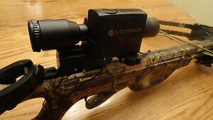 aluminum crossbow mount bracket leupold Vendetta or Vendetta 2  rangefinder