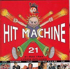 HIT MACHINE 21 CD 21 Max Trax