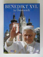 Benedikt XVI in Österreich Auf Christus schauen Styria Verlag inkl CD Papst Buch