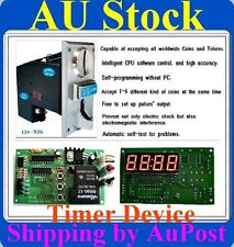 Multi Coin Acceptor selector & timer control board cafe kiosk for AU coins