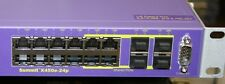 Extreme Networks X450e-24P Summit 16142 24 Port Gigabit POE EDGE Switch
