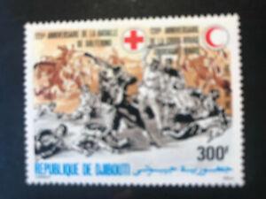 Djibouti 1984 Rotes Kreuz Halbmond Henri Dunant Nobelpreis Frieden 1901 MNH