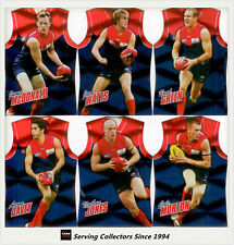 2010 Select AFL Champions Holofoil Jersey Die Cut Card Team Set (12)-Melbourne
