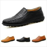 Casuals Shoes Men Loafer Leisure Driving Trail Real Leather Moccasins Breathable