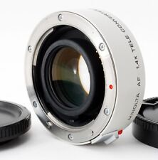 [MINT]Minolta AF 1.4x Tele Converter II APO Sony A mount from Japan #169