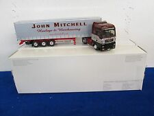 Eligor MAN TG XXL Tautliner John Mitchell Truck Search Impex 1/43 Scale
