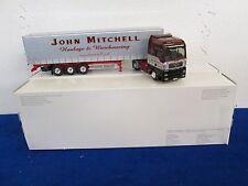 Eligor MAN TG XXL Tautliner John Mitchell Truck Search Impex 1/43 Scale
