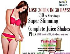 FAST WEIGHT LOSS SLIM SLIMMING SHAKES in 123 STRAWBERRY,BANANA,VANILLA,CHOCOLATE