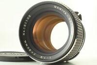 [N Mint] MAMIYA SEKOR C 80mm f1.9 w/ Hood, Caps, Manual for M645 1000S Super 131