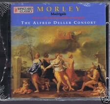 TH. MORLEY CD NEW MADRIGALS / THE ALFRED DELLER CONSORT