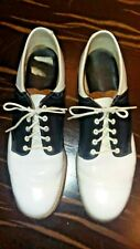 Vtg 1960's Cheerleader Saddle Shoes 7