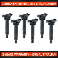 6x OEM Quality Ignition Coil for Lexus IS200 2.0L I6 1G-FE