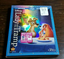 Lady and the Tramp (Blu-ray/DVD, 2012, 2-Disc Set, Diamond Edition) w/ Slipcover