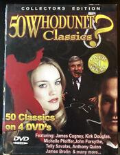 50 Whodunit Movie Classics - 4 DVD Box Set NICE!