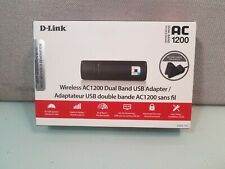 D-Link DWA-182 Wireless Dual Band AC1200 USB Wi-Fi Network Adapter *FREE SHIP!**