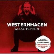 """WESTERNHAGEN """"WUNSCHKONZERT"""" CD+DVD NEU"""