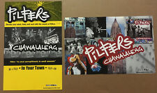 Toasters PILFERS Rare 1999 DOUBLE SIDED TOUR PROMO POSTER for Chawalaleng CD