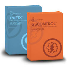 TruVision TruFix & TruControl Weight Loss 1 Month Supply (120 Capsules)