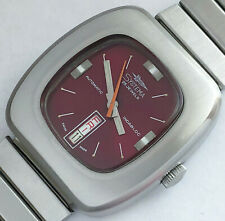 25 Jewels Swiss Made Systima automatic Men's vintage watch mint condition rare
