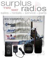Blackbox Seal UHF 400-470Mhz 4W 16CH Compact Radio EMS Ham Warehouse Bluetooth