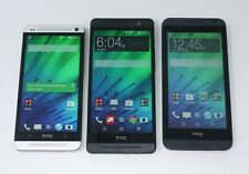 Lot of 3 Working HTC Android Smartphones - One M7 / One M8 / Desire 610
