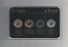 Niederlande 2013, 2 Euro Prestige Coinset, Gold, Platin, Ruthenium, Neu, OVP,RAR