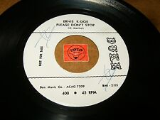ERNIE K-DOE - PLEASE DON'T STOP - BOOMERANG   / LISTEN - SOUL