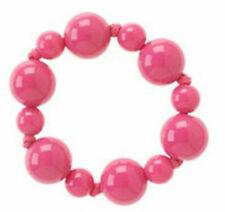 Gymboree Tres Chic 2007 Pink Beaded Stretch Bracelet, NWT