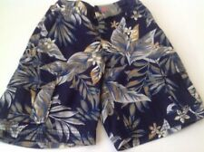 Hanna-Andersson-Shorts-Boys-Tropical-Navy-Cargo-Shorts-Size-120-6-8