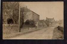 North Sunderland - Village Scene - real photographic postcard