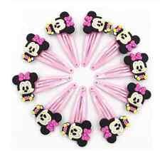 2x  süße Haarspangen Haarclips Minnie  Mouse
