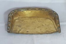 Beautiful Vintage Brass Crumb Tray