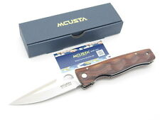 MCUSTA SEKI JAPAN TACTILITY ELITE MC-122R ROSEWOOD VG-10 FOLDING POCKET KNIFE